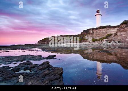 Escena costera australiana Foto de stock
