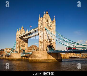 Tower Bridge de Londres.