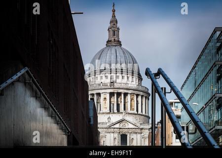 La catedral de San Pablo, Londres Foto de stock