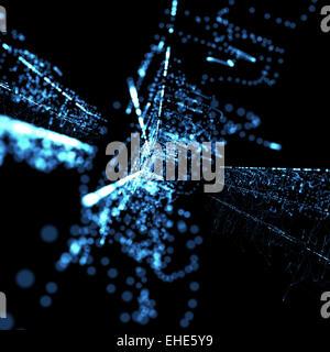 Resumen antecedentes tecnológicos de neón azul