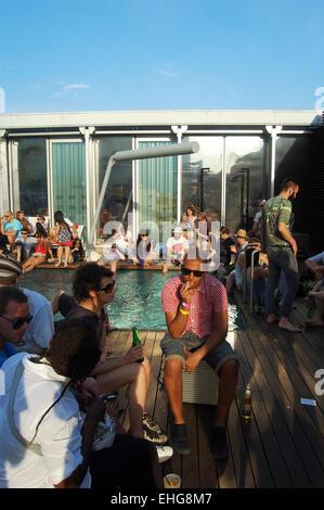En el Hotel Me ra parte durante el Sónar 2009 en Barcelona.