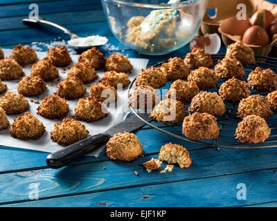 Macarrones de coco