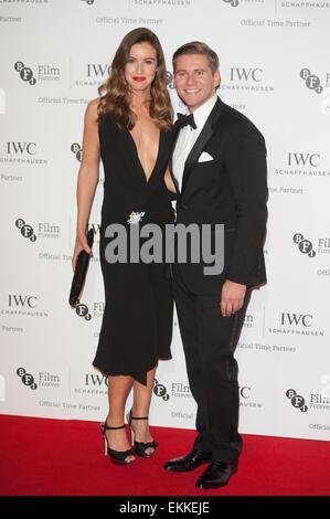 IWC Schaffhausen, BFI London Film Festival - Cena privada celebrada en el Battersea Evolution - Llegadas. Incluye: Foto de stock