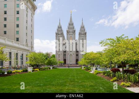 Del Templo de Salt Lake en Salt Lake City, Utah