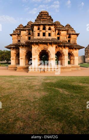 El Templo del Loto (Lotus Mahal), Hampi.