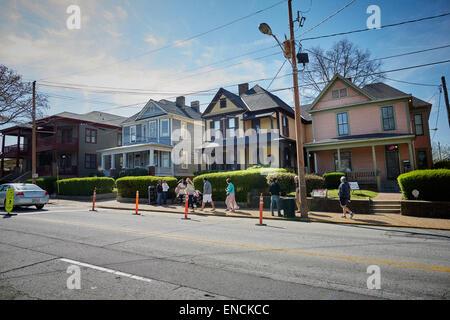 """Atlanta en Georgia EE.UU. """"He aquí"""", Martin Luther King, Jr., Lugar Histórico Nacional, Sitio Histórico Nacional Martin Luther King Jr.,"""