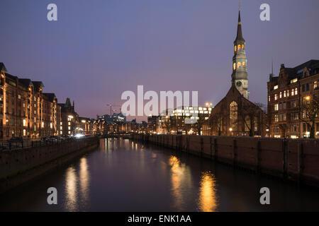 Hafencity, Hamburgo, Alemania, Europa