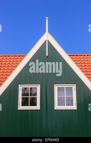 La vieja ciudad histórica de Marken, al norte de Amsterdam, Países Bajos.