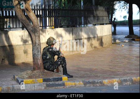 Guardia de Seguridad Nacional NSG commando Oberoi Trident hotel ataque terrorista Deccan Muyahidín, 26 de noviembre de 2008 Mumbai