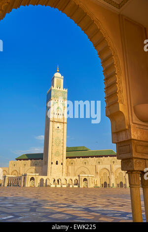 Mezquita de Hassan II, en Casablanca, Marruecos, África