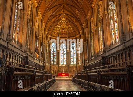 Interior de la capilla de King's College en la Universidad de Cambridge CAMBRIDGE CAMBRIDGE INGLATERRA GB Europa UE