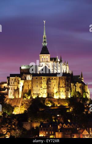 Mont Saint Michel, Departamento Manche, Basse Normandie, France