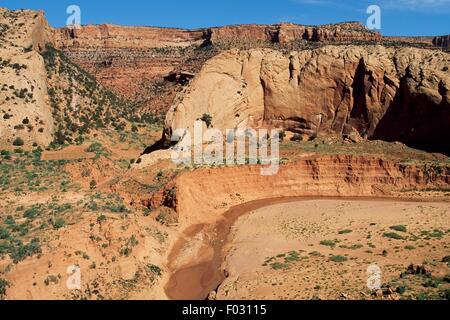 Spearhead Mesa, Sand Springs, Monument Valley, Arizona y Utah, Estados Unidos de América.