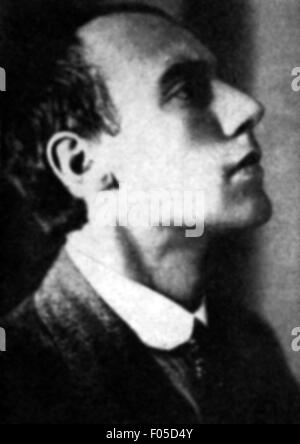 Becher, Johannes Robert, 22.5.1891 - 11.10.1958, escritor y político alemán (KPD), retrato, 1920,