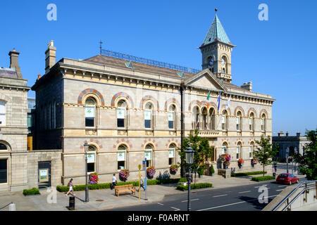 Dun Laoghaire ayuntamiento edificio County Council. Foto de stock