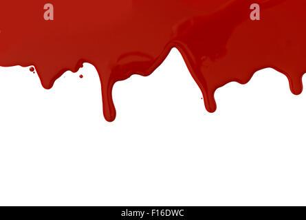 Gotas de sangre y a salpicar.