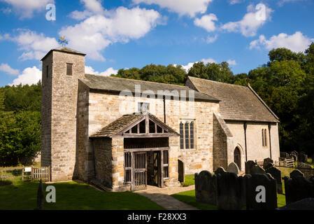 San Gregorio Minster, Kirkdale, cerca Kirkbymoorside, North Yorkshire, Inglaterra, Reino Unido. Foto de stock