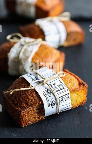 Financiador de vainilla tortas