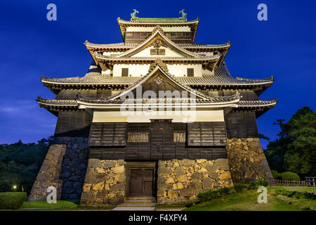 Matsue, Japón en el castillo. El castillo es uno de los pocos castillo original se mantiene en el país.