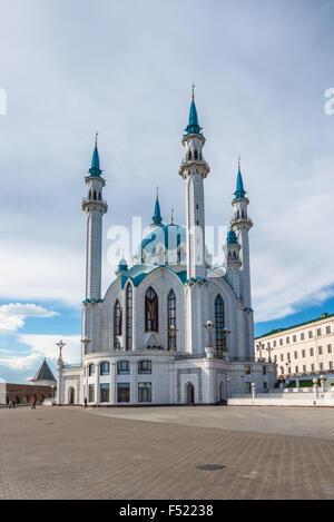 Mezquita Kul-Sharif en Kazan, Tatarstan, Rusia Foto de stock