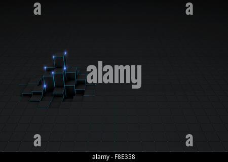 Resumen Antecedentes bloques 3D negro
