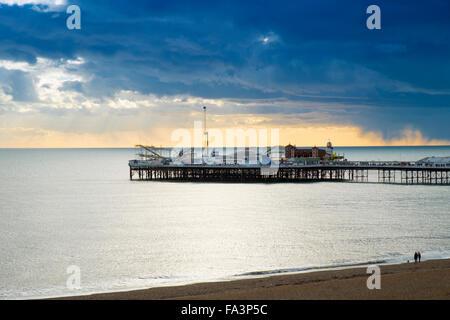 Muelle de Brighton Foto de stock