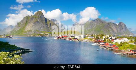 Las Islas Lofoten, Reine, Moskenes, Noruega