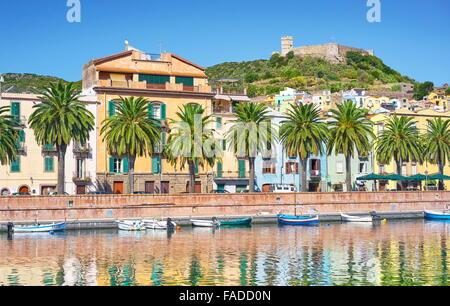 Casco Antiguo de Bosa, Sardegna (Cerdeña, Italia)
