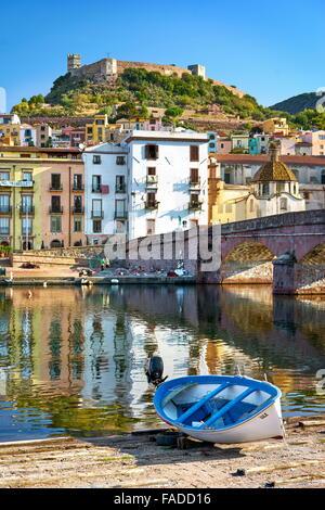 Casco Antiguo de Bosa, Cerdeña, Italia