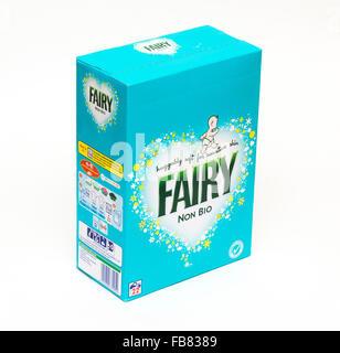 Fairy non bio detergente en polvo hecha por Procter and Gamble
