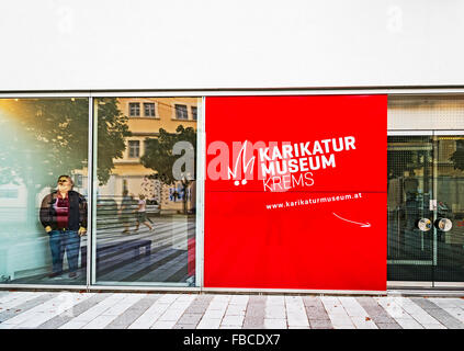 En Krems, Karikaturmuseum Wachau, Niederösterreich; museo de la caricatura, Krems, Wachau Austria