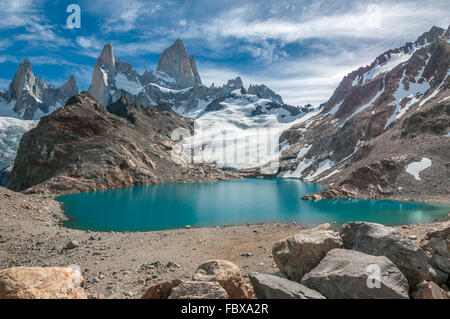 Fitz Roy y La Laguna de los Tres, Patagonia, Argentina