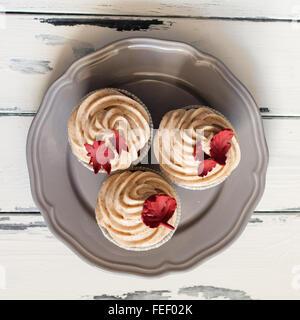 Decorado cupcake desde arriba