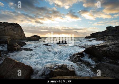 Mares agitados en las Islas de Scilly