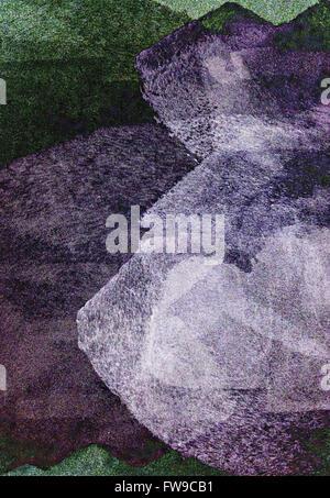 Moderno diseño gráfico abstracto concepto creativo de arte digital Foto de stock