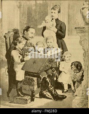 Dentro de los palacios reales, un brillante y encantadoramente escrita vista interior de emperadores, reyes, reinas, príncipes y princesas (1892)