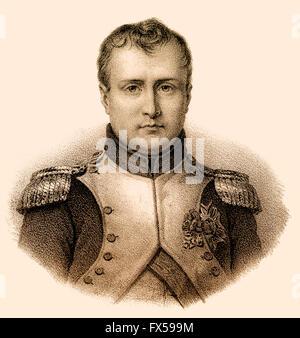 Napoleón Bonaparte, 1769-1821, emperador de los franceses como Napoleón I Foto de stock