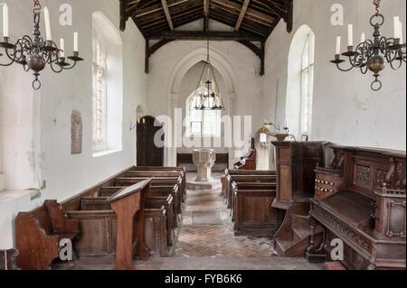 Santa María Magdalena, Caldecote, Reino Unido. Redundante de 14c en el cuidado de la iglesia de la caridad a los amigos de iglesias indeseada