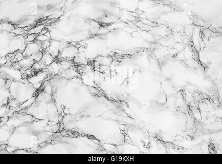 Textura de mármol blanco Antecedentes Foto de stock