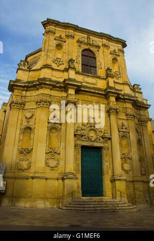 Lecce, iglesia barroca, Chiesa di Santa Chiara