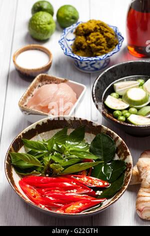 El Curry Rojo Tailand S Alimentos Foto Imagen De Stock