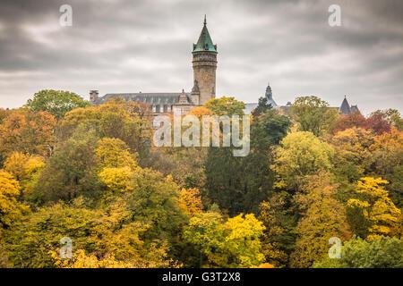 Torre en la ciudad de Luxemburgo