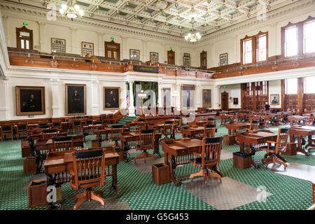 Cámara del Senado de Texas en Austin