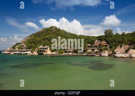 Pequeño bungalow resort Ngoc Suong, en Cam Ranh Bay, Nha Trang, Vietnam