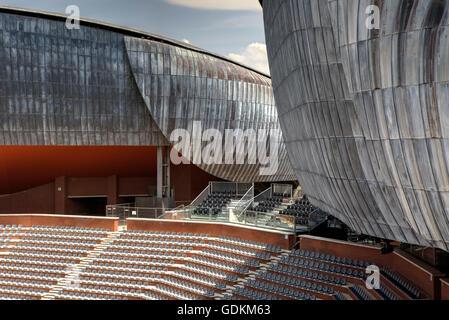 El Auditorio Parco della Musica en Roma, Italia