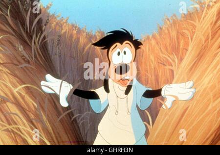Goofy - Der Film A Goofy Movie USA 1995 Goofy nimmt seinen Sohn in den Ferien auf eine Campingtour mit. Der pubertieren-de Rebell Max ist jedoch gar nicht begeistert, weil er sein erstes Rendezvous mit der bezaubernden Roxanne verpasst. Max schämt sich für seinen linkischen Vater, doch als ihre Reise immer abenteuerlicher wird kommen die beiden, sich Zwischen den Stromschnell-en des Grand Canyon und einem riesigen Rockkonzert näher. Regie: Kevin Lima aka. A Goofy Movie