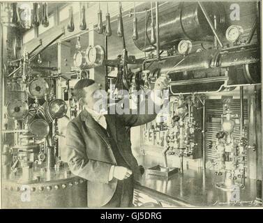 Locomotora ingeniería - una práctica oficial de potencia motriz ferroviaria y el material rodante (1900)