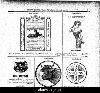 Boletín Oficial de la República Argentina. 1911 1ra sección (1911)