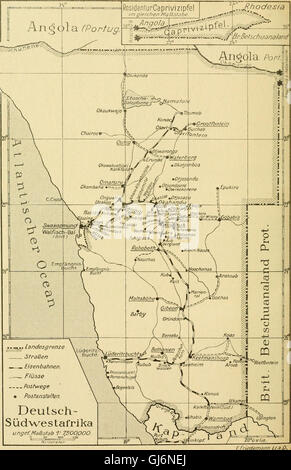 Die postwertzeichen und der deutschen postanstalten entwertungen in den schutzgebieten und im auslande (1921)