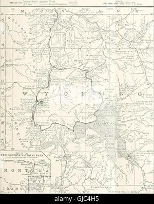 Tour del continente - Colorado, California y el Parque Nacional de Yellowstone - tren especial, dirigió personalmente a través de la Central de Nueva York y el Río Hudson R.R. y líneas de conexión (1901)